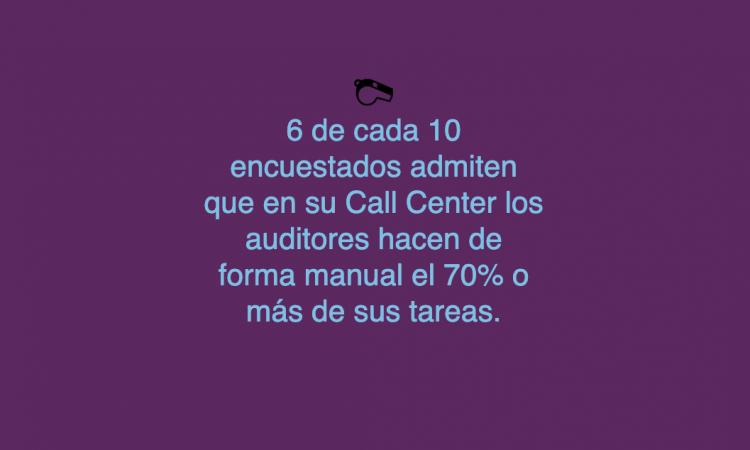 Mejorar la eficiencia al hacer auditorías de calidad en el Contact Center